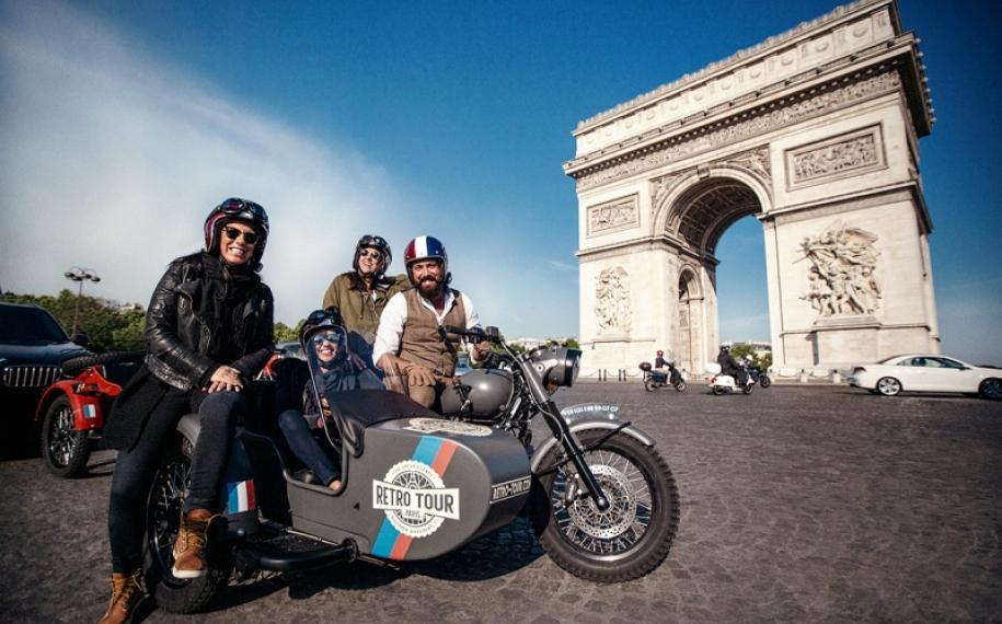 Offrez-vous un Retro Tour à Paris !