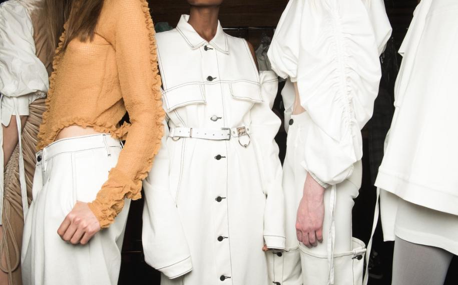 Paris Fashion Week; live fashion first
