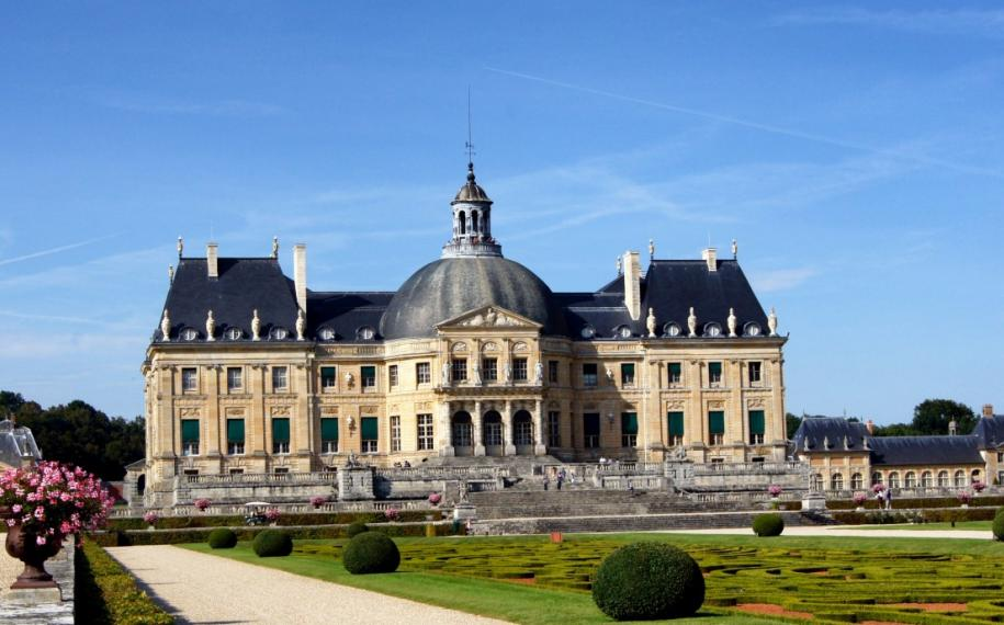 The Château de Vaux-le-Vicomte illuminations