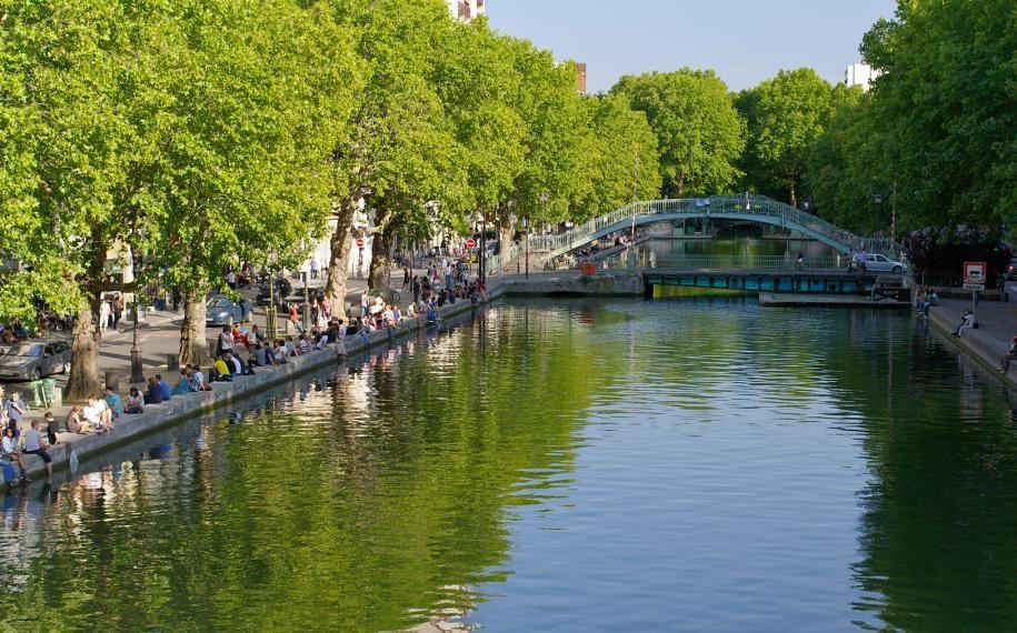 Escapade au bord du Canal Saint Martin