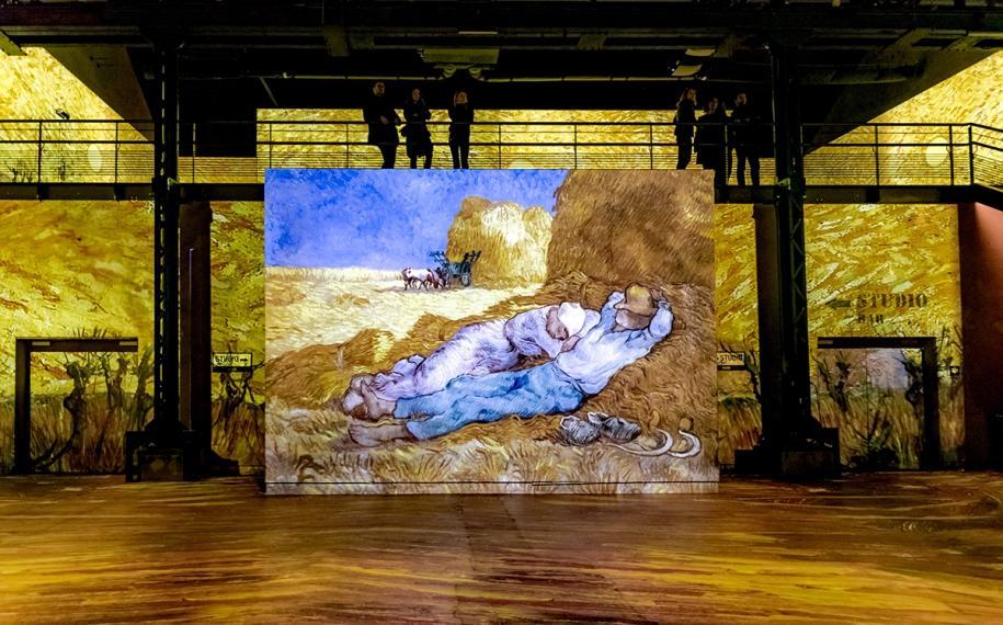 La magie de Van Gogh à l'Atelier des Lumières