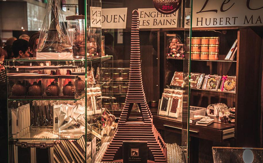 Succumb to temptation at the Salon du Chocolat