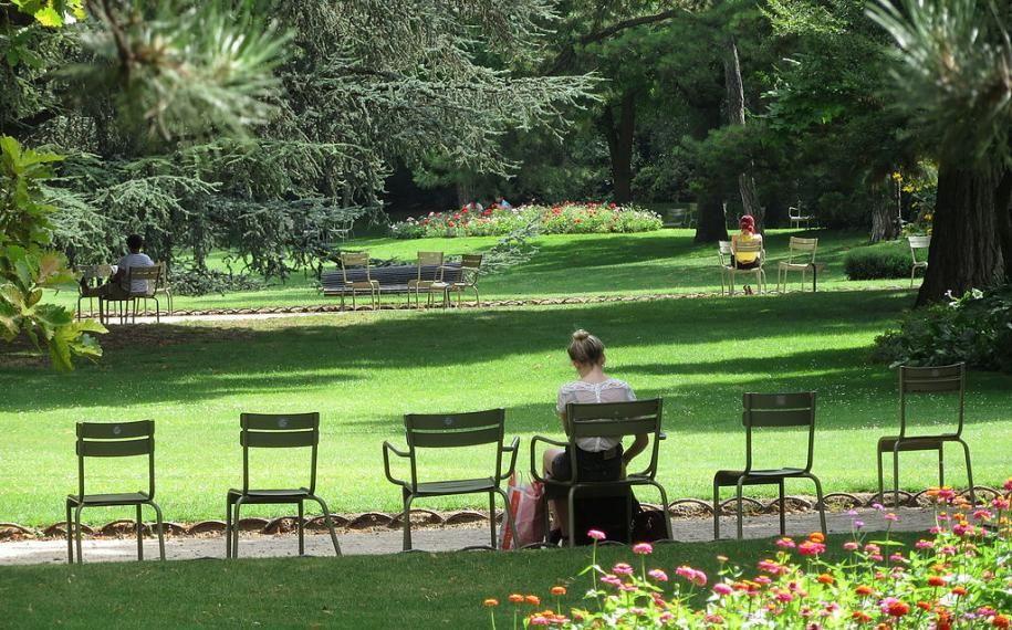 Halte bucolique dans les jardins à Paris