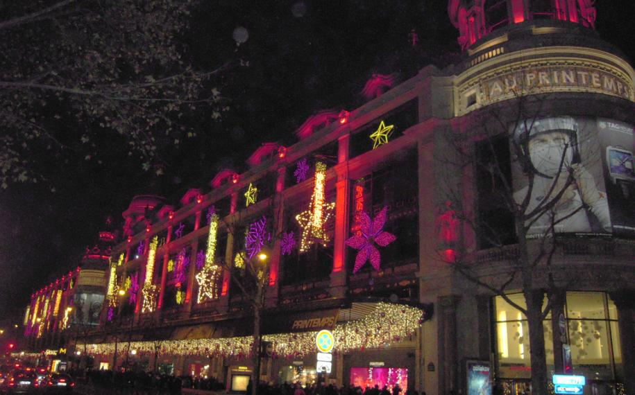 A Christmas in Paris; windows, illuminations and markets…