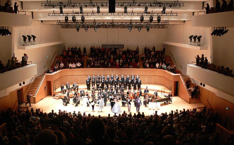 The legendary Salle Pleyel