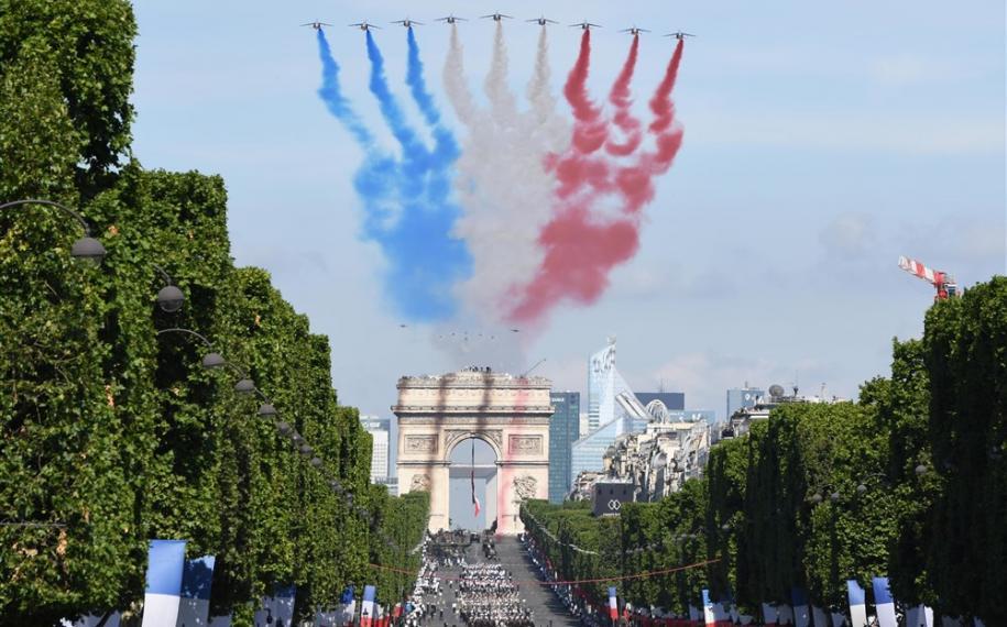 Le 14 Juillet à Paris : aux premières loges