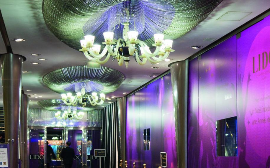 New Year's Eve at the Lido de Paris; a fun way to greet 2020!