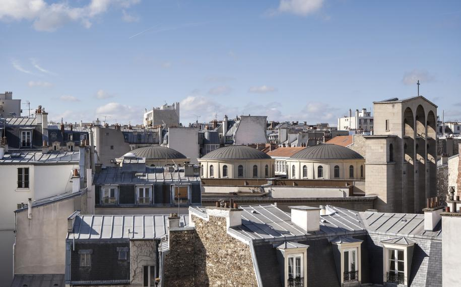 Hôtel Doisy - Vue sur les toits de Paris